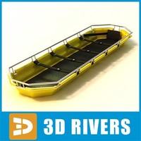 3d plastic rescue stretcher