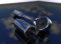 craftsman socket wrench 3d model