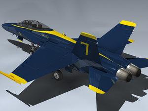 maya f a-18b hornet blue angels
