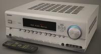 ONKYO TX-SR604E S with remote
