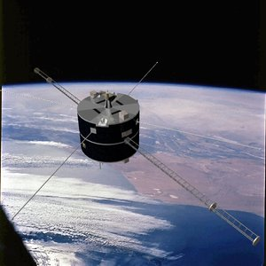 3d model nasa satellite geotail