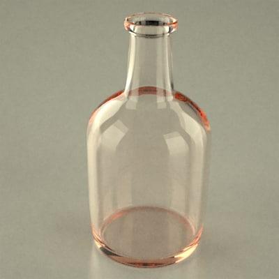 flowerpot bottle 3d max