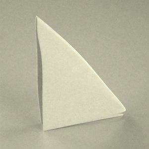 3d model table napkin