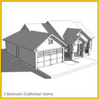 Craftsman House 1 Whitebox