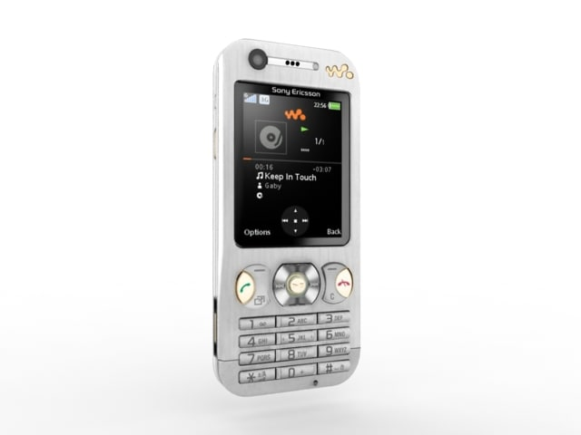sony ericsson w890 3d model