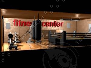 3d fitness center