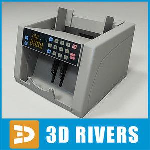 money counter 3d model