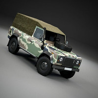 Land Rover Military Pickup