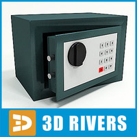 3ds max bank safe