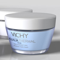 3d vichy cosmetics model