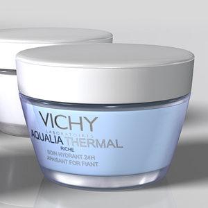 3d vichy cosmetics model