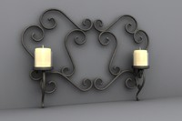 wall design votive 3d model