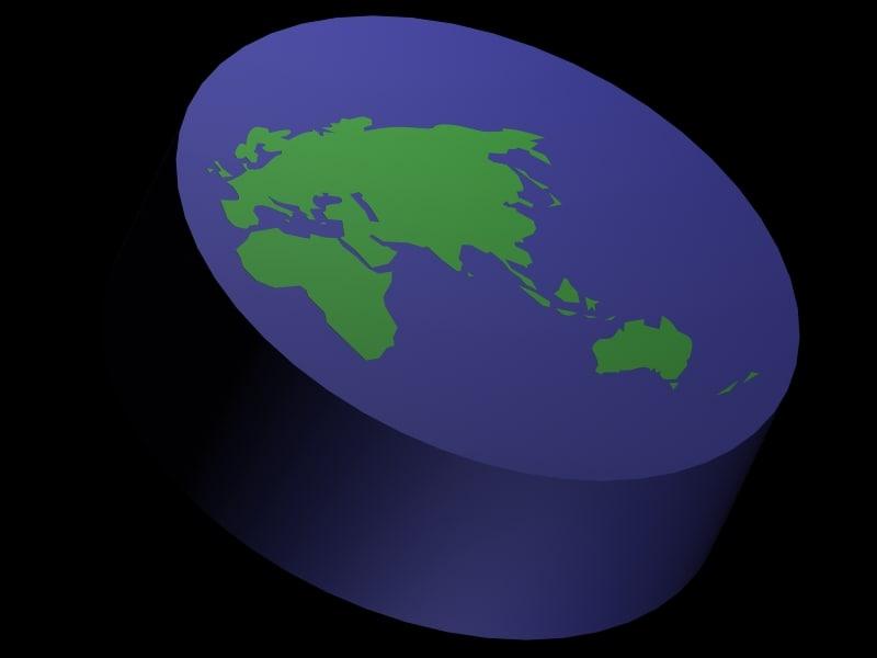 world disk 3d max