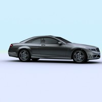 lightwave 2008 mercedes cl65 amg