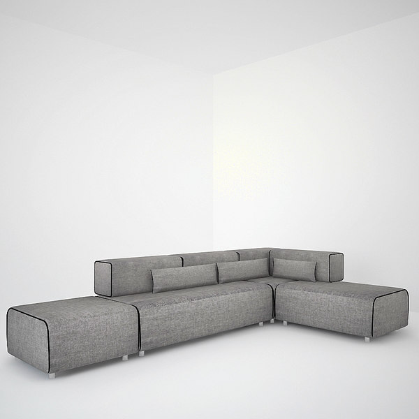 sofa ponton 3ds