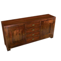 furniture wood 3d 3ds