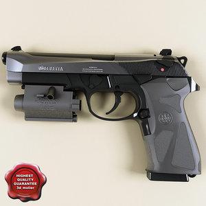 beretta 90two 3d model