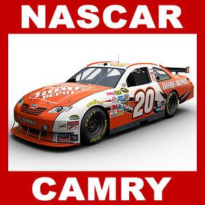 car nascar camry 3d 3ds