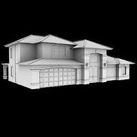 cypress home 2009 3d model