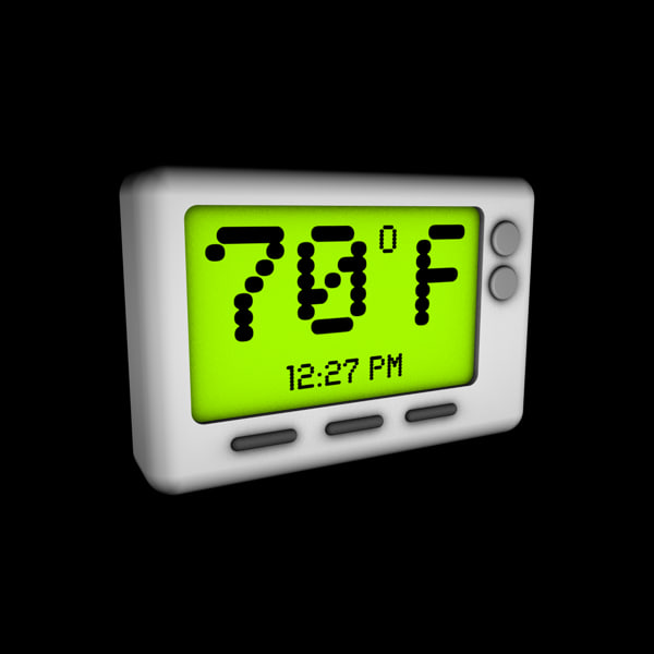 3d 3ds digital thermostat