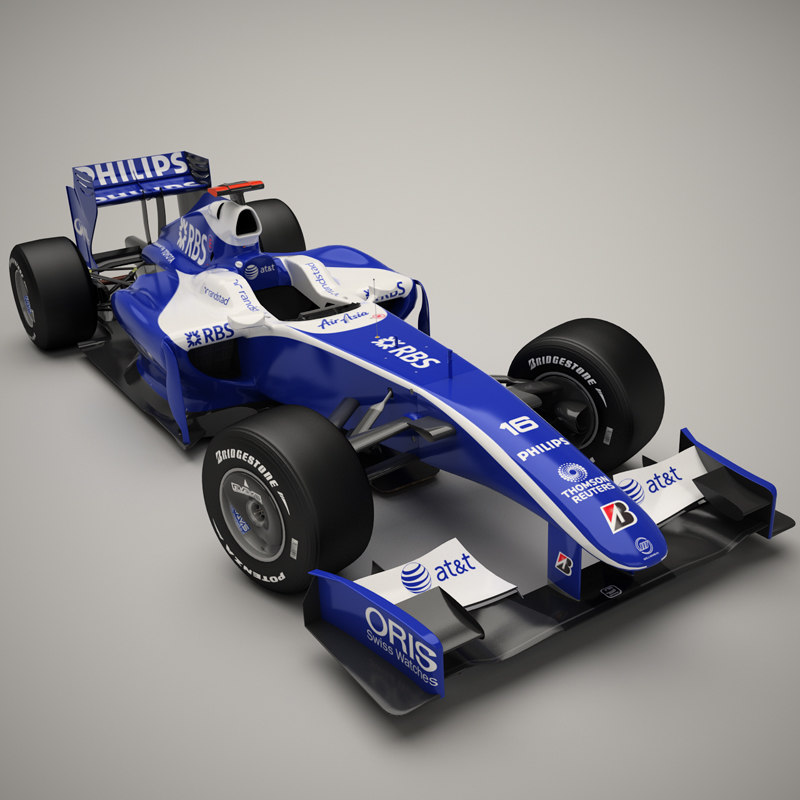 3d model williams fw31 car