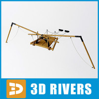 3d flying machine da vinci