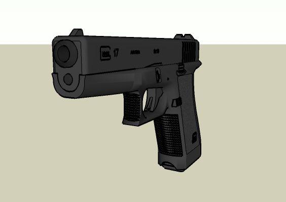 3d glock model