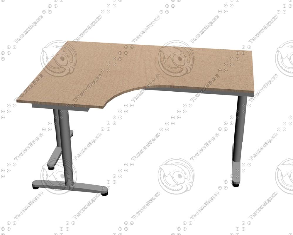 Galant Ikea ikea galant desk left