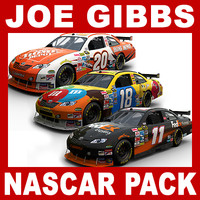 Nascar COT Stock Cars - Joe Gibbs Racing Pack