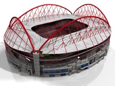 da luz stadium 3d model