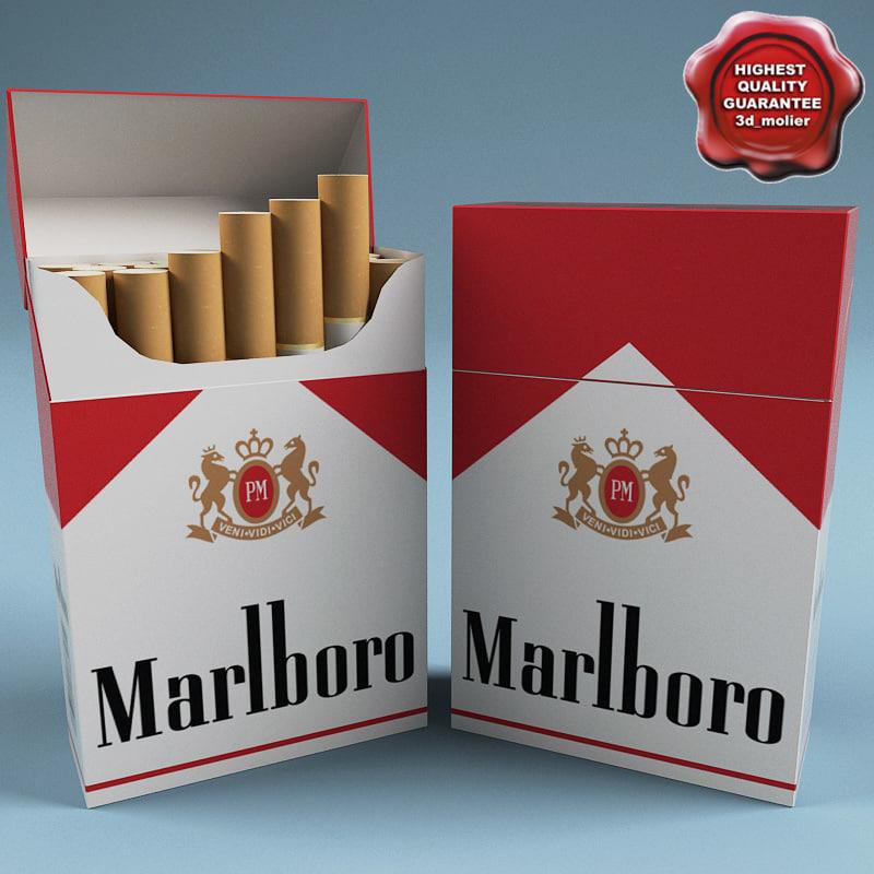Cigarettes Marlboro 2018 UK