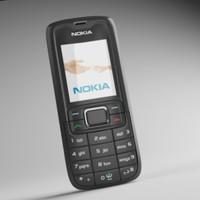 3d model nokia 3110