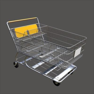 pjs shopping cart obj