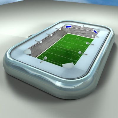 3d rugby statum model