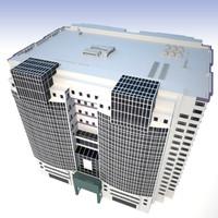 3d building modern sci-fi