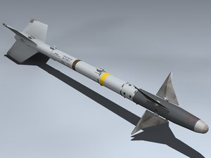 aim-9l sidewinder 3d model