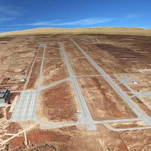 airfield desert 3d model