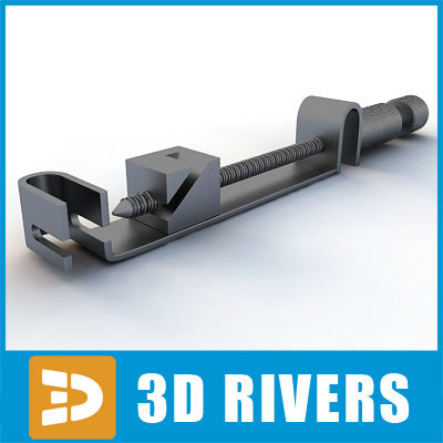 3d model angled matrix retainer
