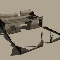 destructed home 3d 3ds