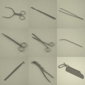 3d model autopsy tools
