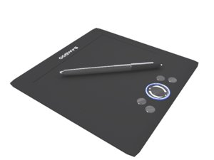 free 3ds mode wacom bamboo drawing tablet