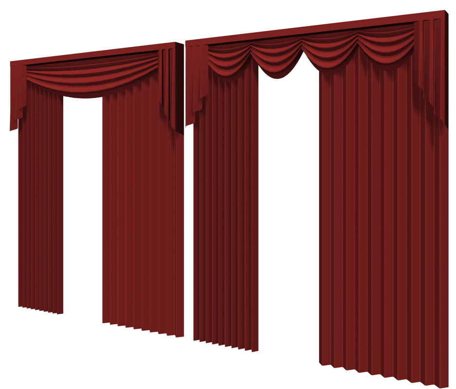 curtain dxf