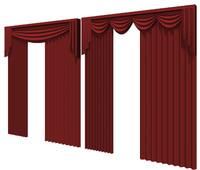 curtain dxf