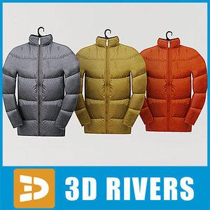 jacket set 3d max