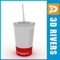 max paper cup straw drink