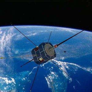 nasa fast satellite 3d model