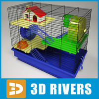 Hamster cage by 3DRivers