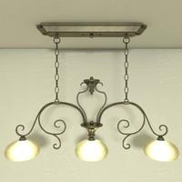 lamp hanging light island 3d 3ds