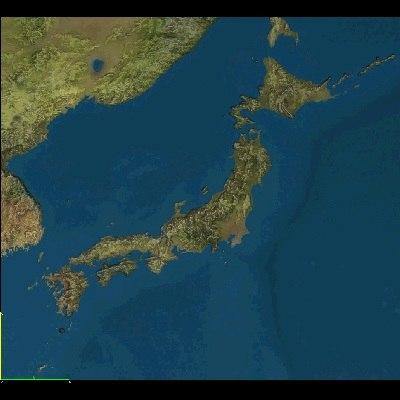 3d japan maps model