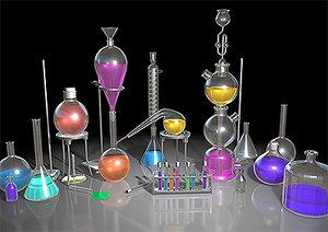 lab chemistry 3d model